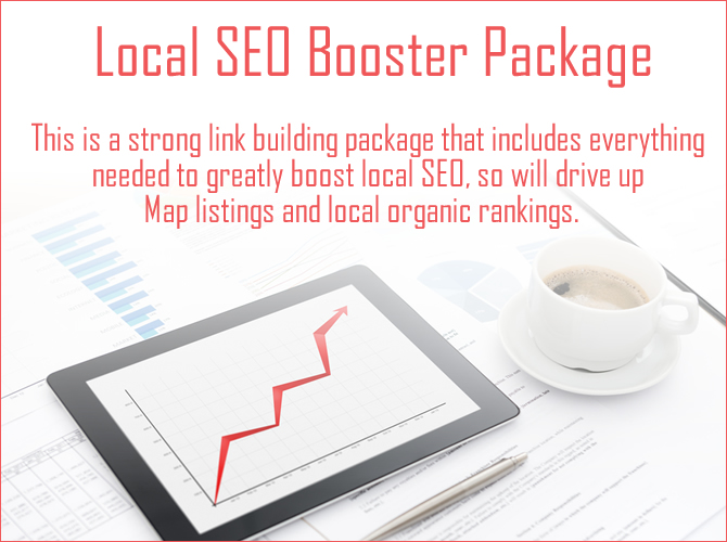 Strong Local SEO Link Building Package
